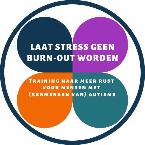 logo van de training Laat stress geen burnout worden